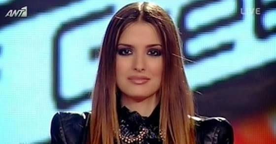 παίκτρια του The Voice - Η Αρετή Κοσμίδου