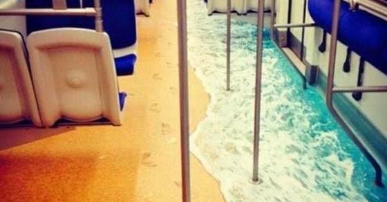 «Πλημμύρισε» το μετρό της Αθήνας