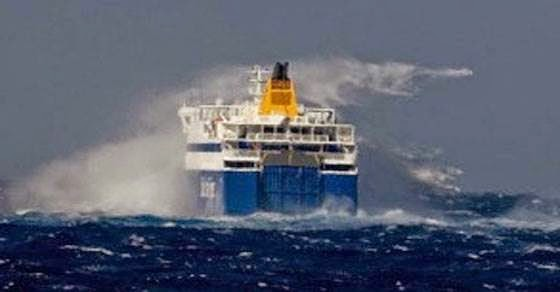 Blue Star Naxos! Το χτύπησε θαλασσοταραχή