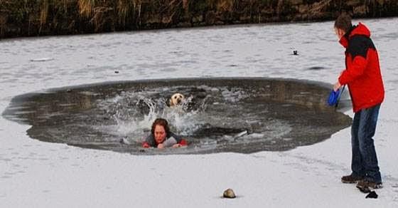 Έχετε ακούσει ποτέ σκύλο να φωνάζει βοήθεια