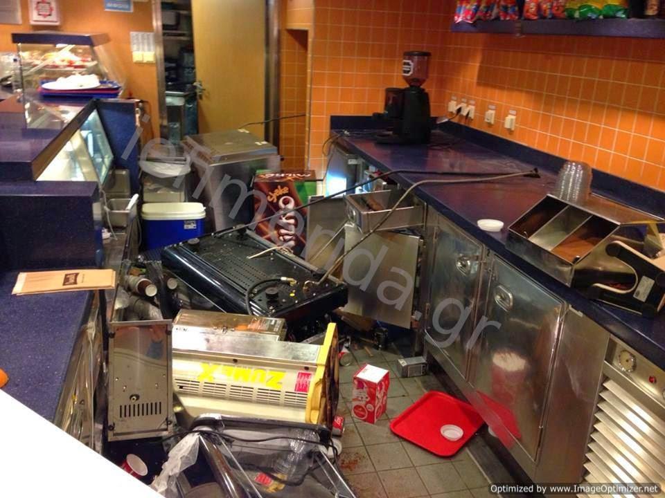 προϊόντα και οι συσκευές είχαν πέσει κάτω