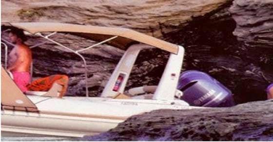 Ελένη Μενεγάκη και Μάκη Παντζόπουλο Το σκάφος τους εντοπίστηκε