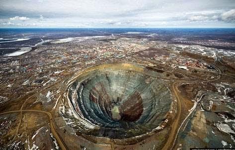 βρίσκεται καταμεσής της Σιβηρίας