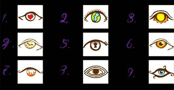 Διάλεξε το μάτι που προτιμάς και μάθε τι λέει αυτό