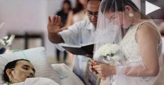 Την παντρεύτηκε και μετά έκλεισε τα μάτια του για πάντα