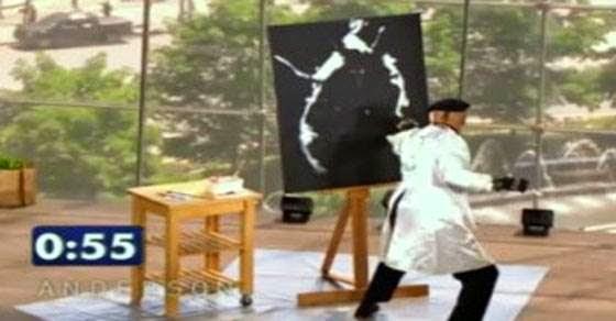 Δείτε τι ζωγράφισε μέσα σε 1.5 λεπτό
