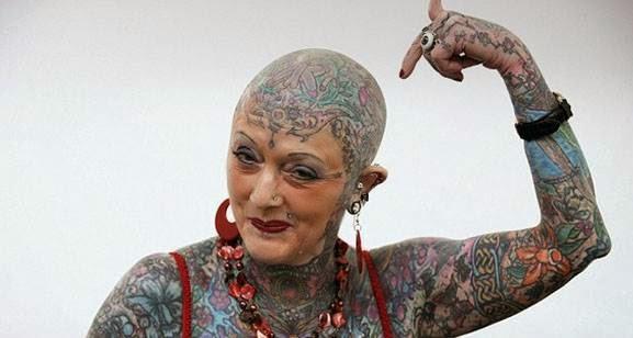 τατουάζ σε ηλικιωμένο 1