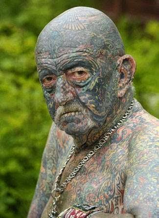 τατουάζ σε ηλικιωμένο 5