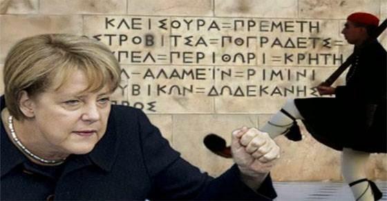 Αυτή είναι η κυρία Μέρκελ - «Τους Έλληνες πρέπει να τους βουτάς