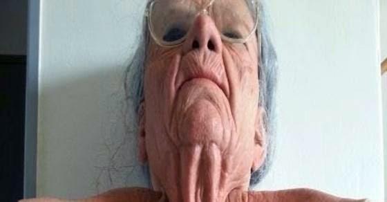 Νομίζεις ότι βλέπεις μια γιαγιά