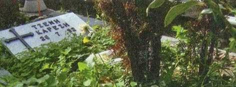 Τζένης Καρέζη τάφος