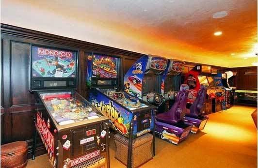 το σπίτι του David Spafford αίθουσα παιχνιδιών