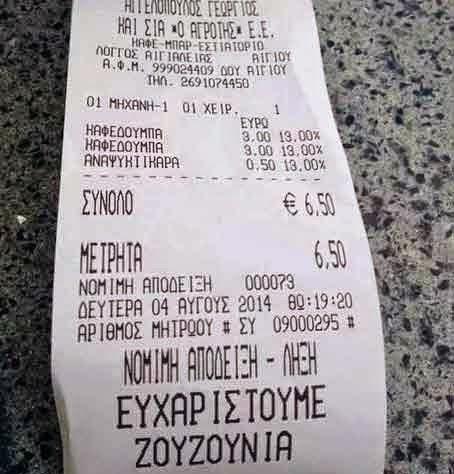 ι ιδιοκτήτες καφέ - μπαρ στο Αίγιο