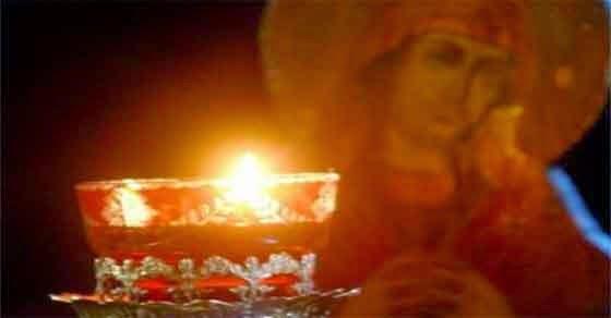 Κουνιέται το καντήλι της Παναγίας στην Κρεμαστή