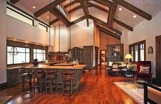 το σπίτι του David Spafford κουζίνα