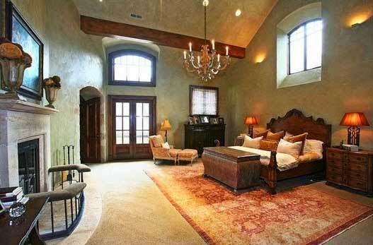 το σπίτι του David Spafford υπνοδωμάτιο