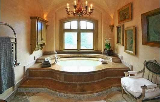 το σπίτι του David Spafford μπάνιο
