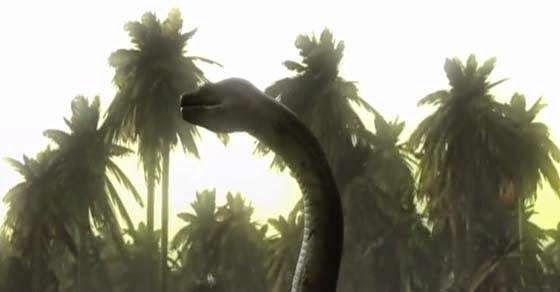 το μεγαλύτερο φίδι που πέρασε ποτέ από αυτόν τον κόσμο