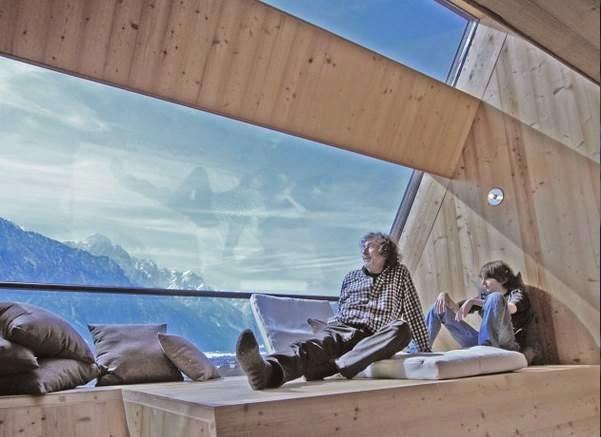 Ένας επιβλητικός χώρος στις Άλπεις