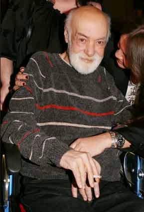 ο μεγάλος Έλληνας ηθοποιός Ανδρέας Μπάρκουλης.