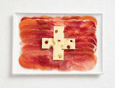 Ελβετία - Αλλαντικά και ελβετικό τυρί