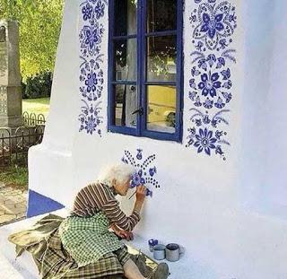 Agnes Kasparkova, από το χωριό Λούκα της Τσεχίας