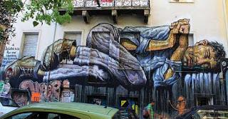 Το γκράφιτι αφιερωμένο σε όλους τους φτωχούς