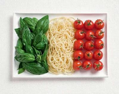 Ιταλία - Δυόσμος, μακαρόνια