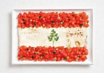 Λίβανος - Ντομάτα, πίτα, μαϊντανός
