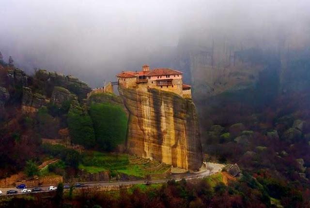 Ιερά Μονή Ρουσάνου, Μετέωρα