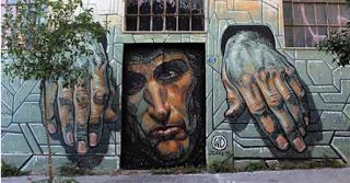 Η ελπίδα πεθαίνει τελευταία - Το νέο γκράφιτι