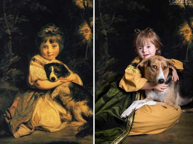 Αναδημιουργεί διάσημους πίνακες 5