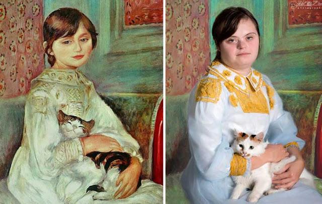 Αναδημιουργεί διάσημους πίνακες 6
